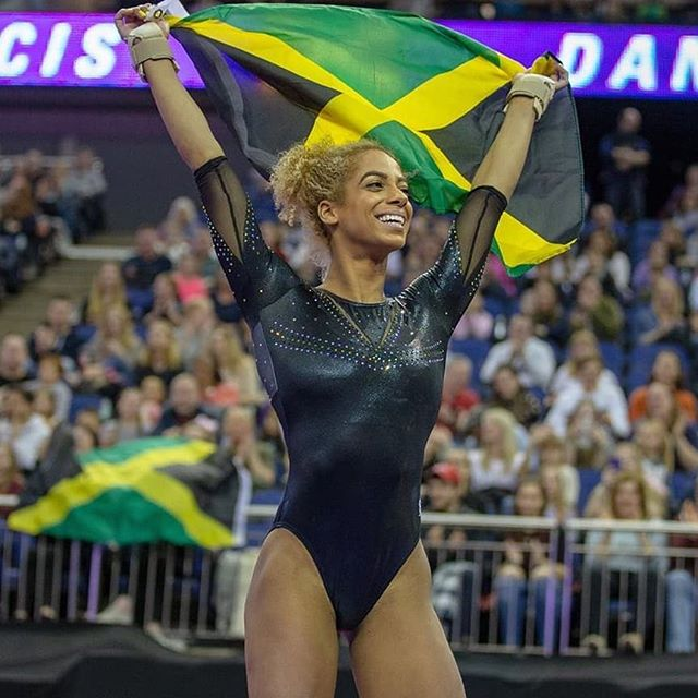 We are so proud of you Danusia @danusiafrancis 🇯🇲🇯🇲🇯🇲🇯🇲😍😍😍😍 #TeamJamaica gymnast has just qualified for #Tokyo2020Olympics #Motivation #Inspiration #Jamaica