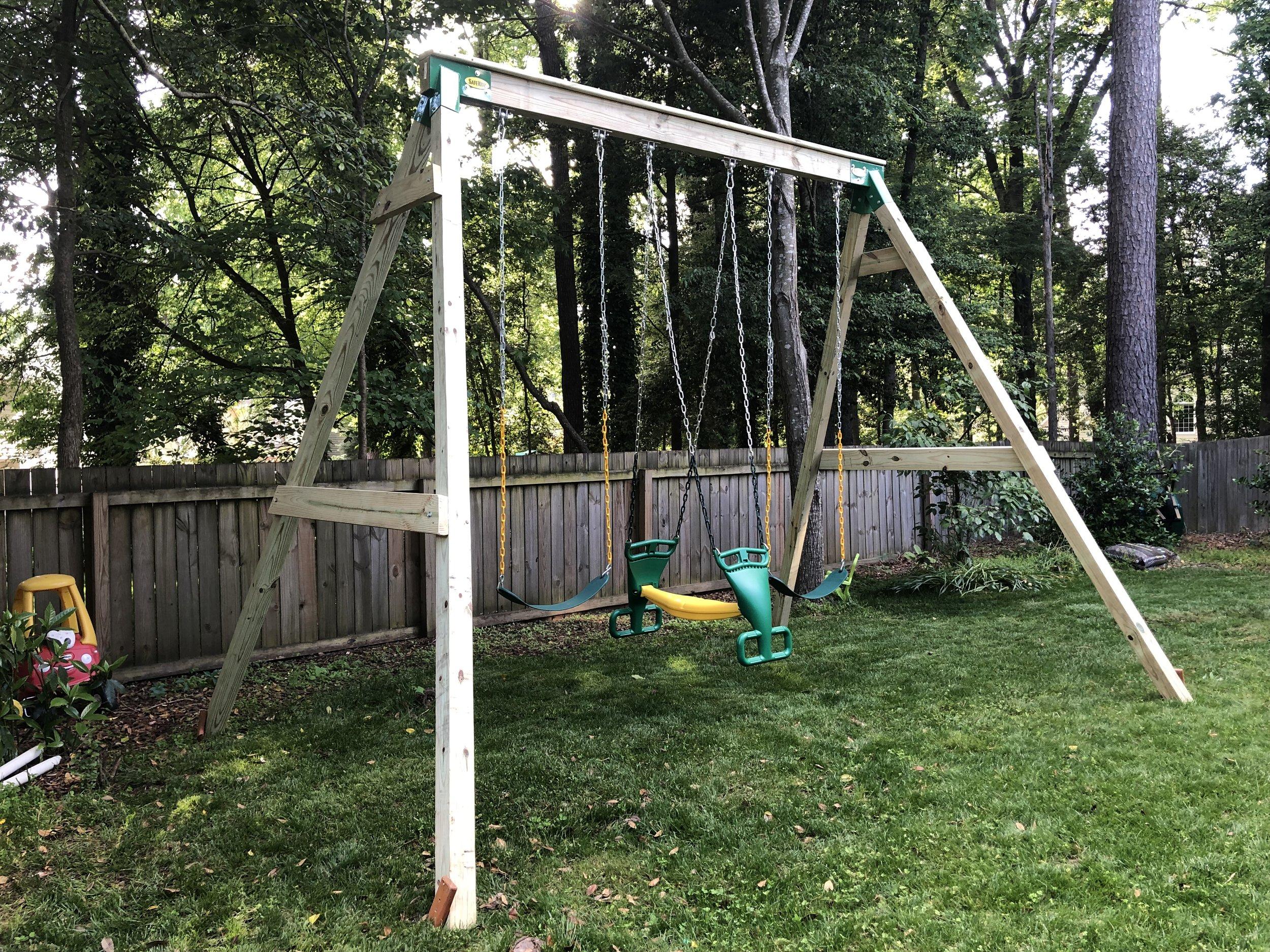 Simple & Strong - Basic Custom Swing Sets
