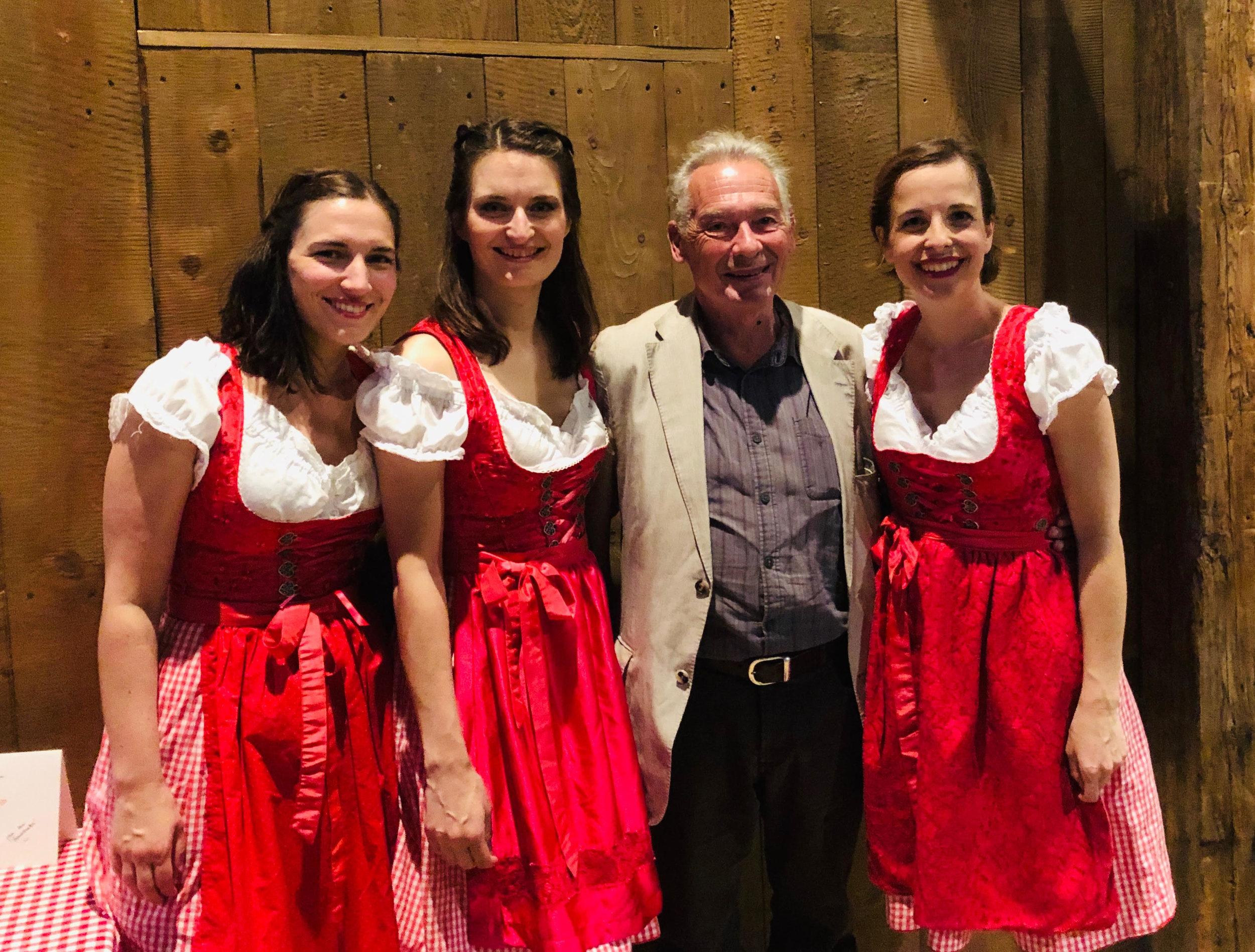 Stimmgewaltig und Rotzfrech! - (Bezirksblätter TELFS)Foto: VID mit Special Guest Felix Mitterer