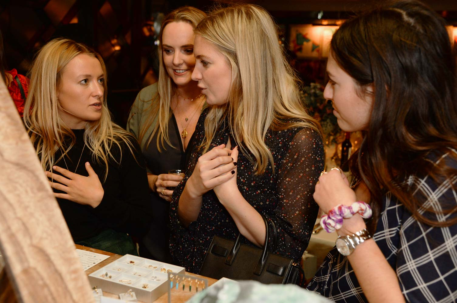 Scarlett Bowman, Marisa, Marissa & Lily talk which gemstones they are drawn to