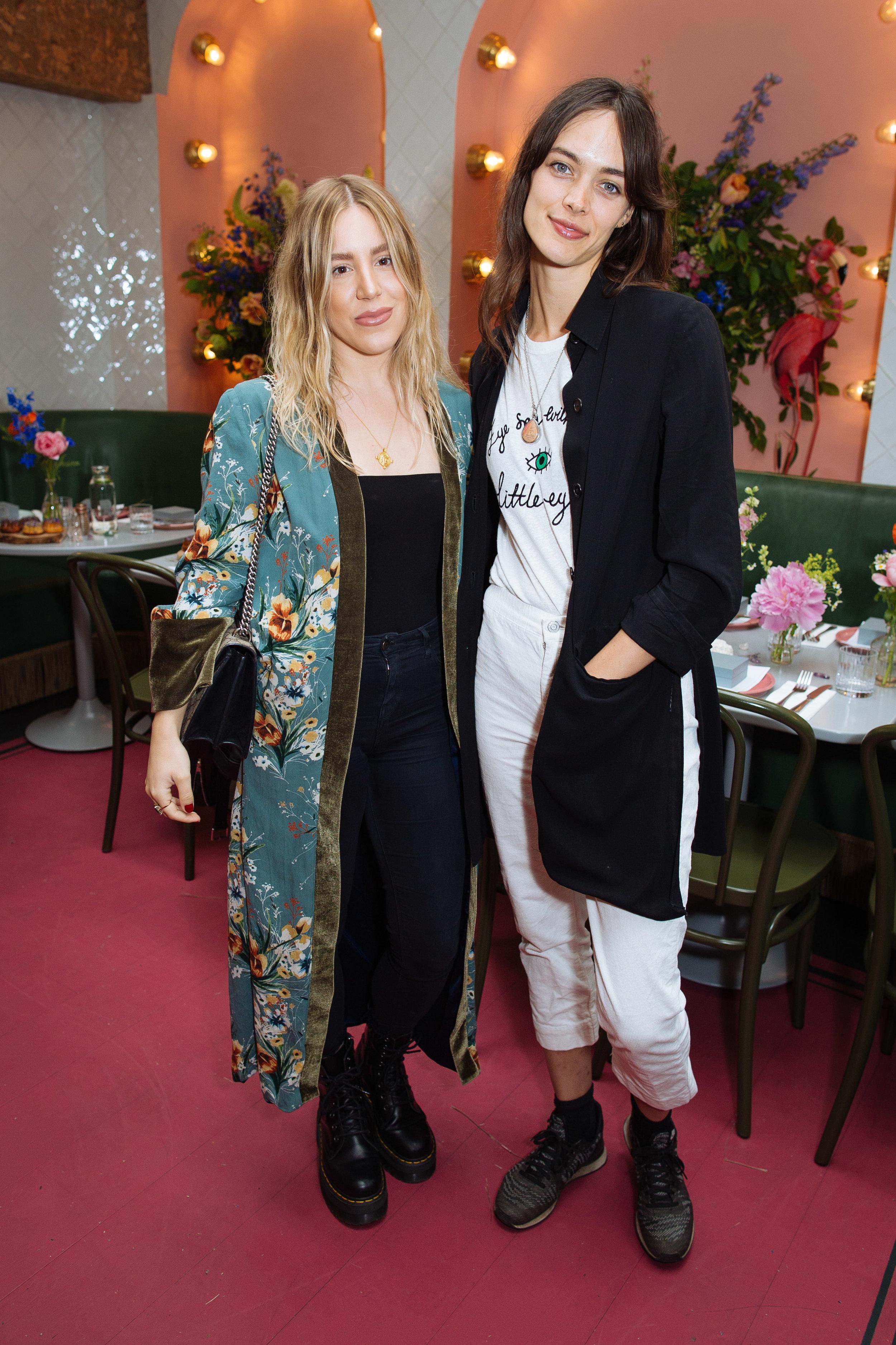 Sarah Louise Marks &Ellen Gibbons   Photo: Sam Churchill