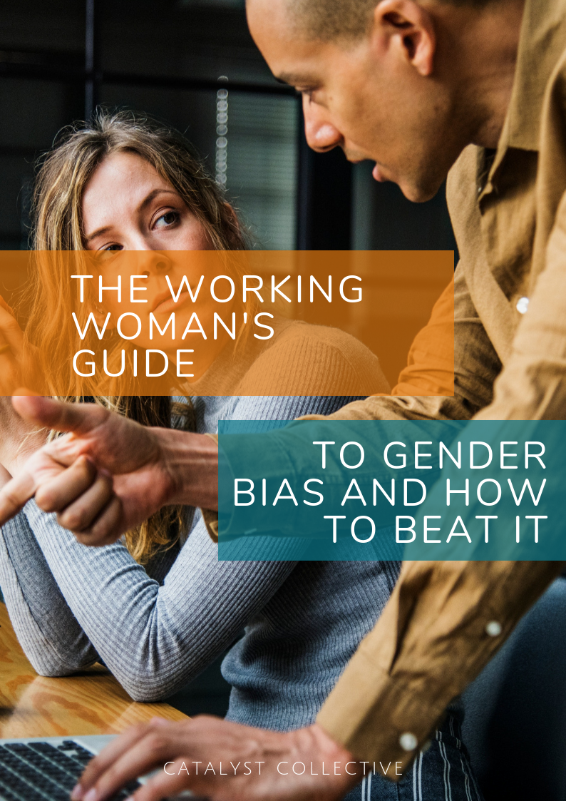 Working Woman's Guide to Gender Bias and How to Beat It - Gender Bias exists like an invisible barrier that stops YOU reaching your potential.Inside this free guide you'll learn:• 10 ways gender bias plays out in your workplace• 10 practical tips and strategies for what you can do about itClick on the button below to get your free guide.You'll also join our community and receive regular resources to help you thrive and grow.
