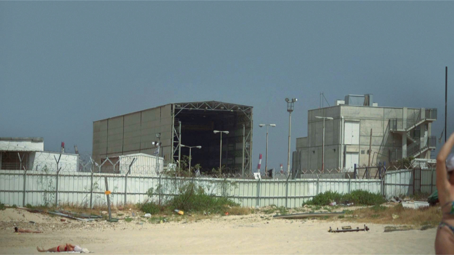 Quiet beach - Haifa base , 2011.