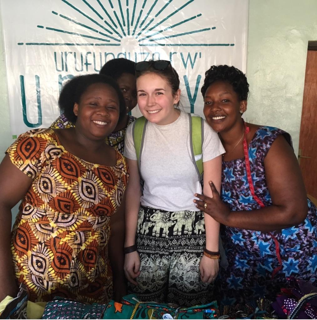 Sydney with our Artisan Partners in Rwanda.