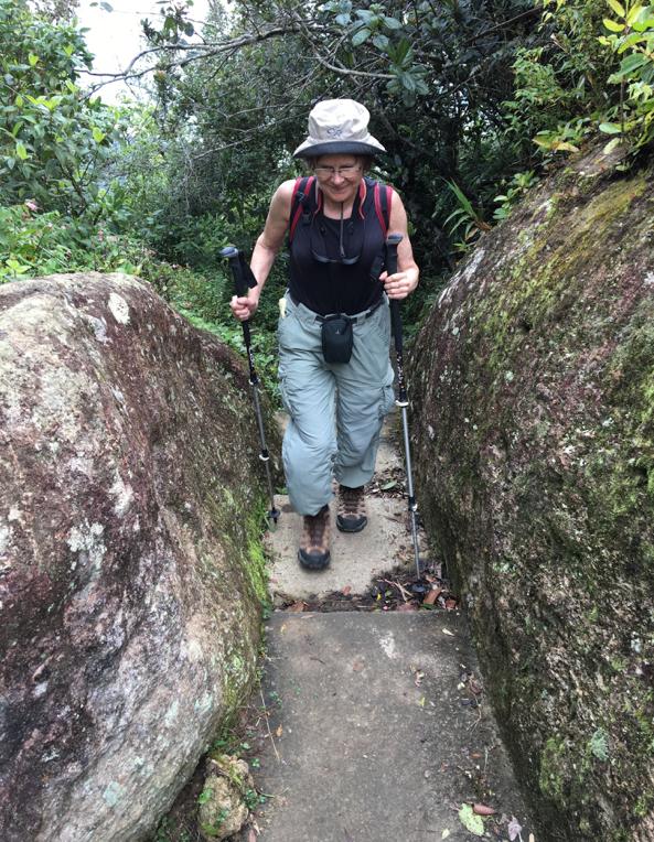 Gran Pierdra trail near Santiago, Cuba, 2016.