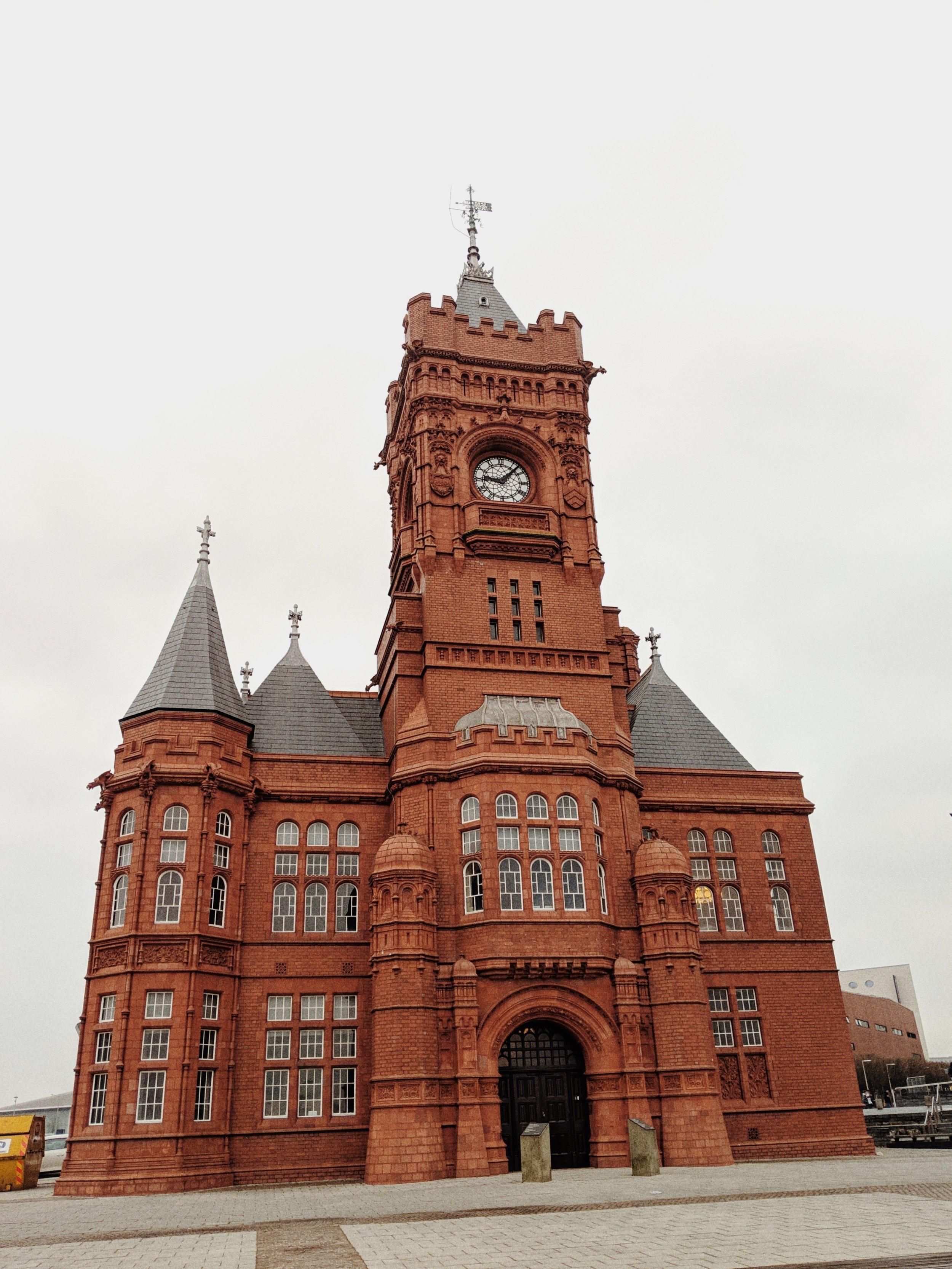 What used to be the old Cardiff Bay Port's office