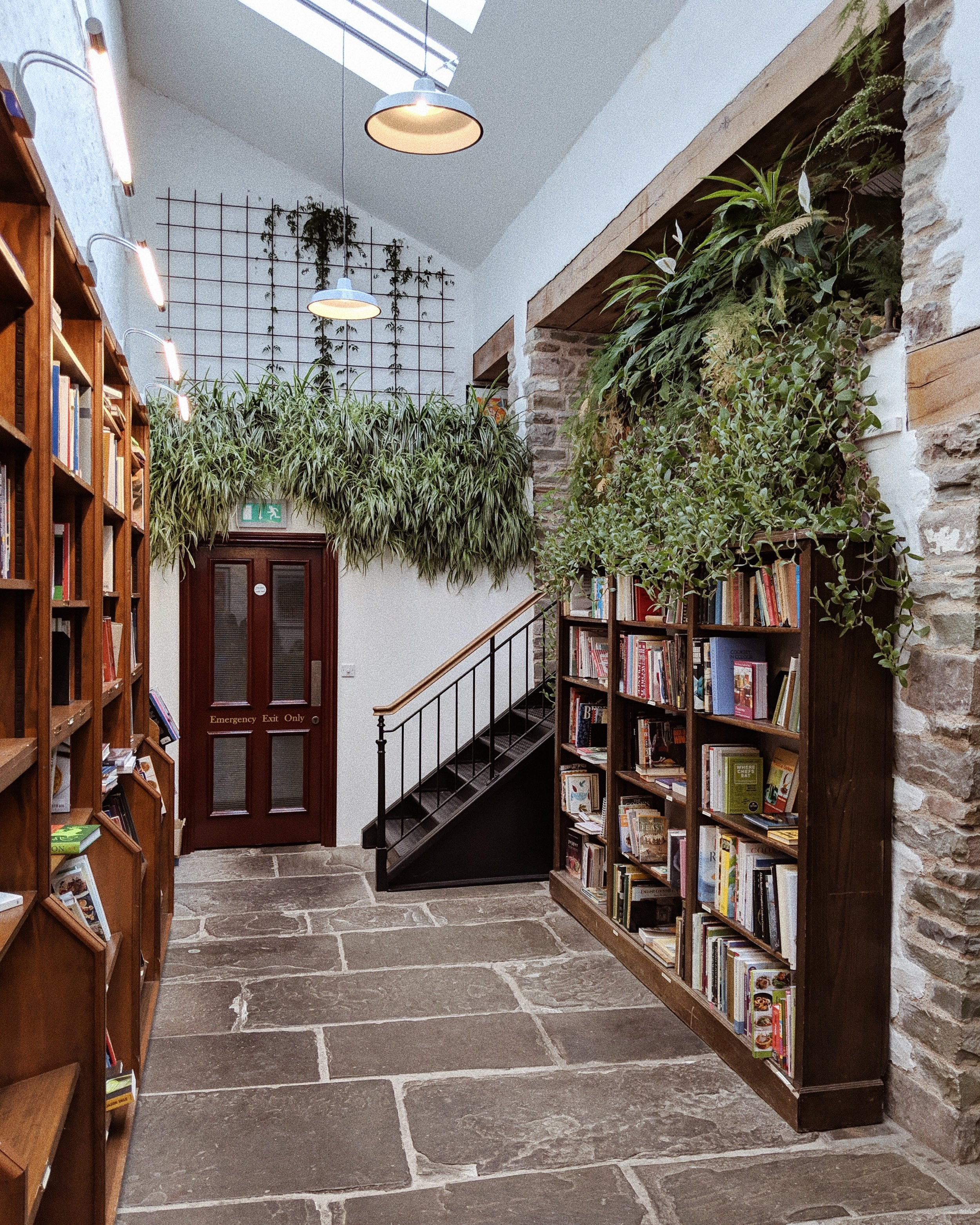 Richard Booth's Bookshop & Cafe in Hay-on-Wye