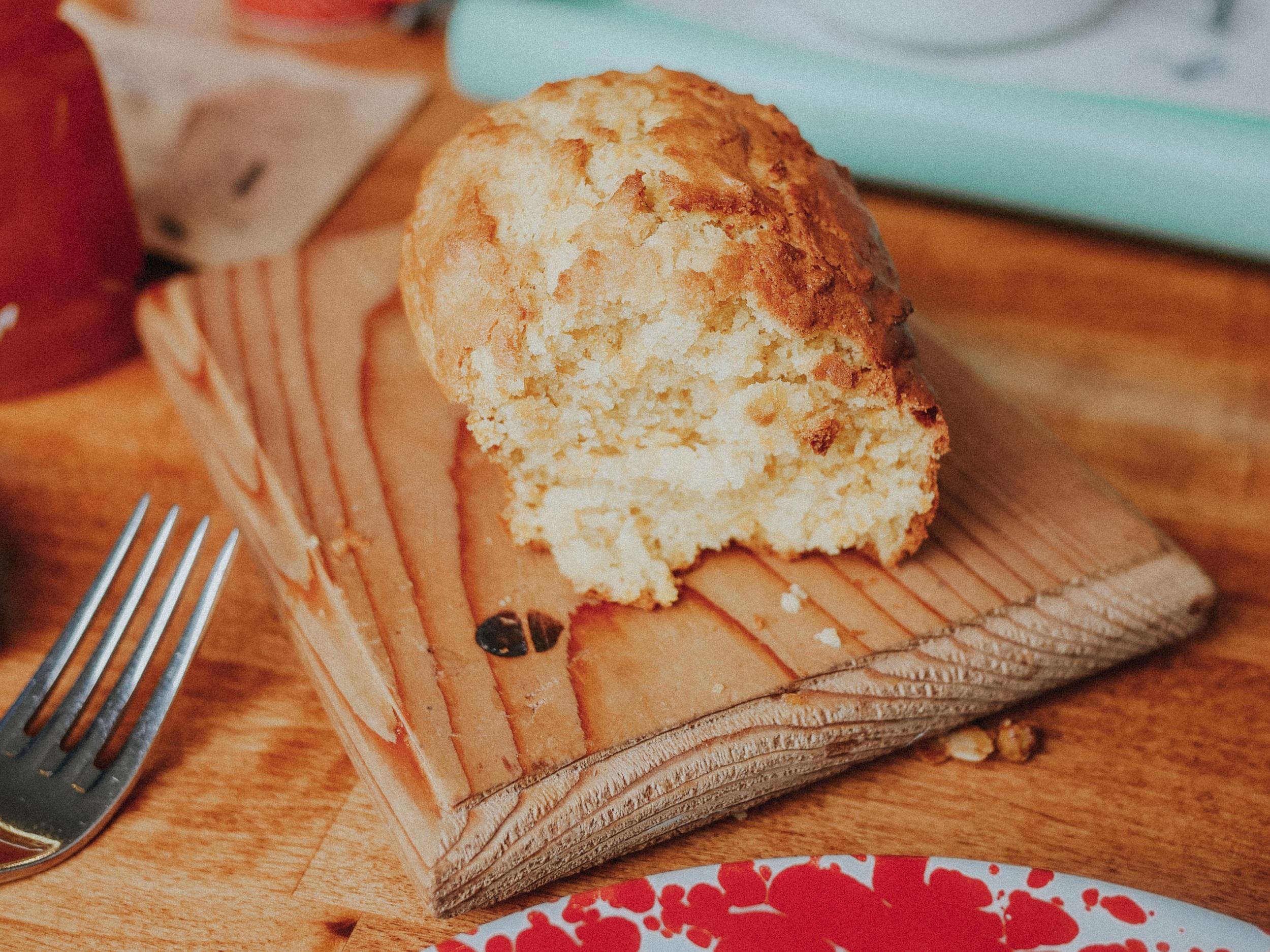 Butternut squash bread. Not pictured: Harbison clotted cream & jam