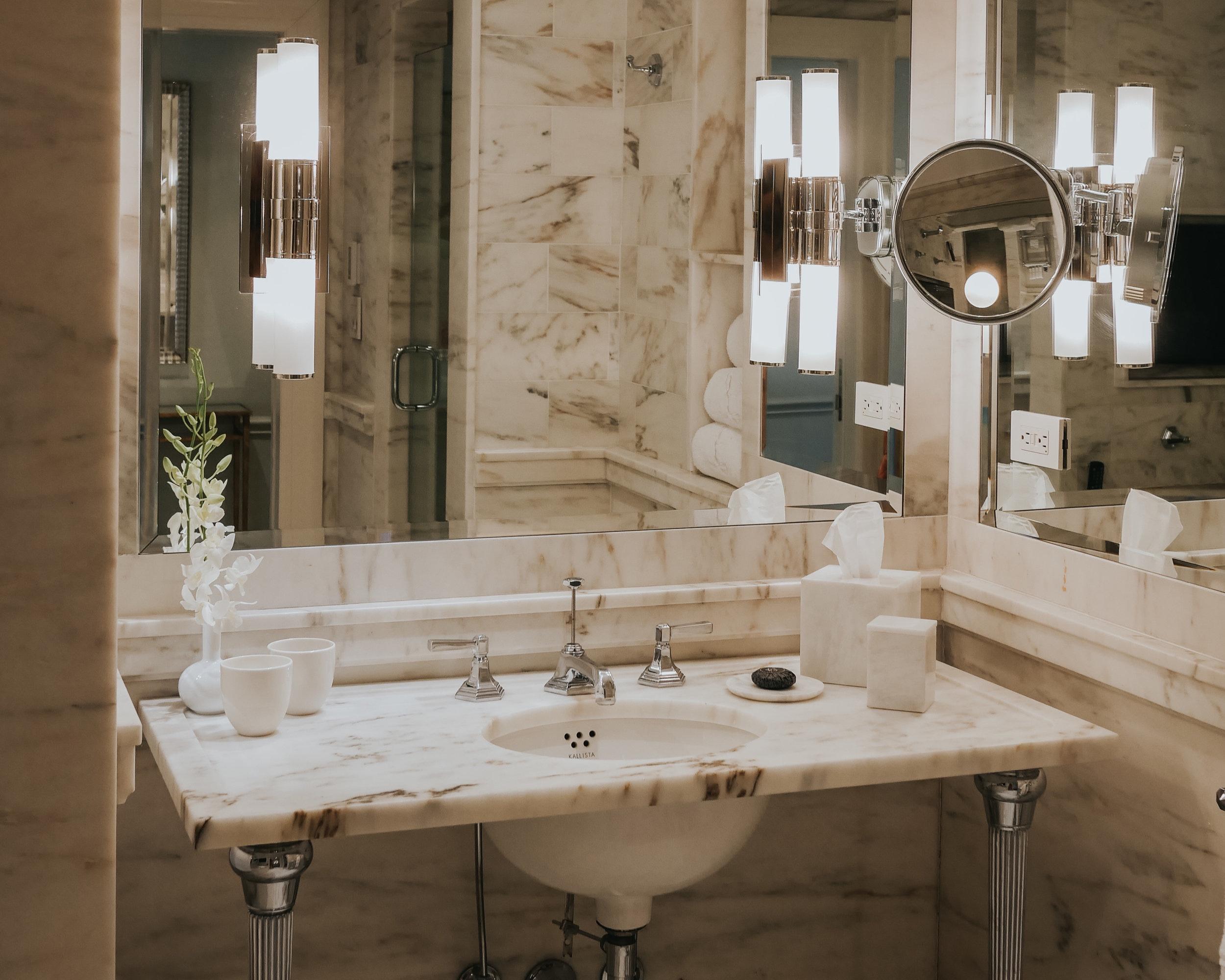 Dream marble bathroom situation