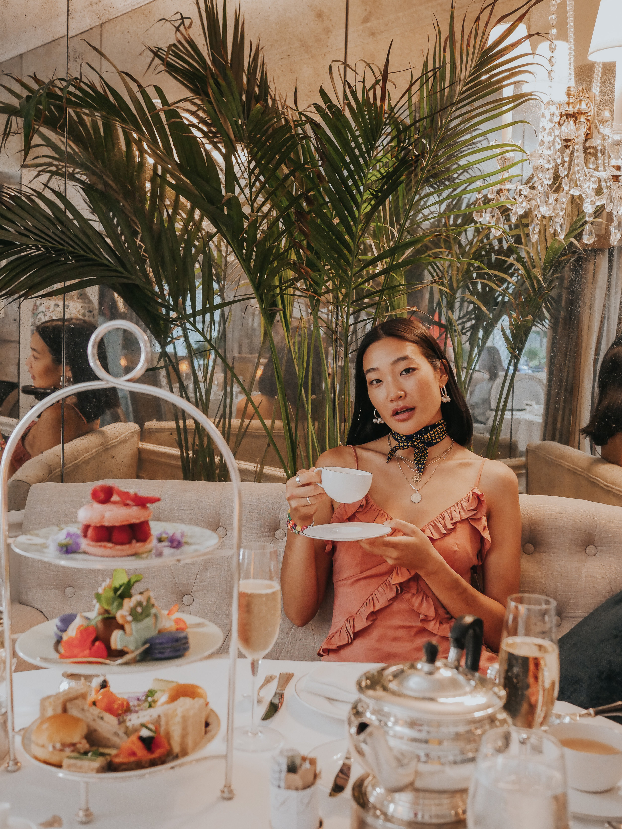 I always feel so extra when I have afternoon tea, but it is aways always enjoyed :)