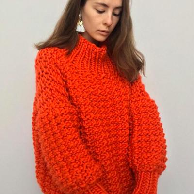 The Knitter Chunky Red Jumper.jpg