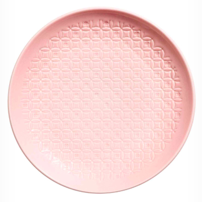 H&M Textured Pink Plate | £8.99