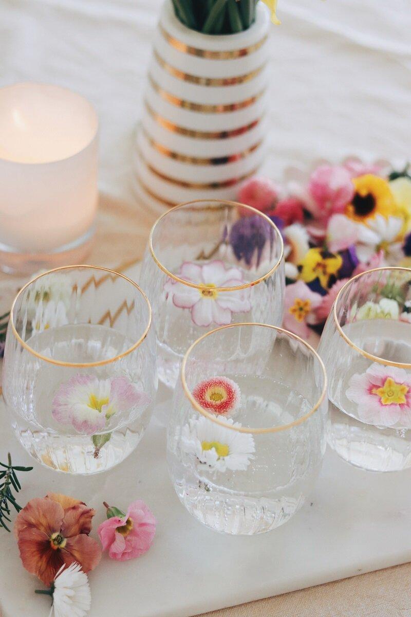 Recipe Ideas Three Ways With Edible Flowers Charlotte Jacklin