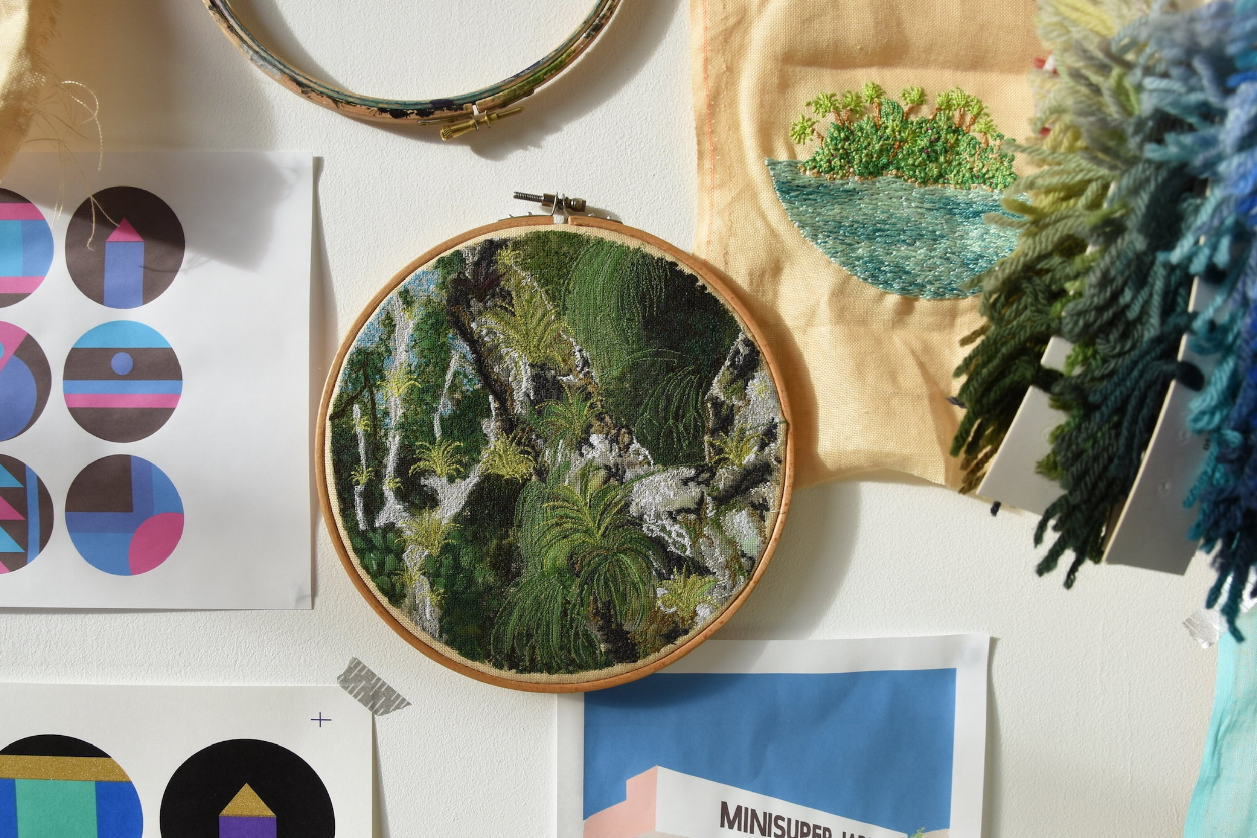 framed-embroidery-wall-art