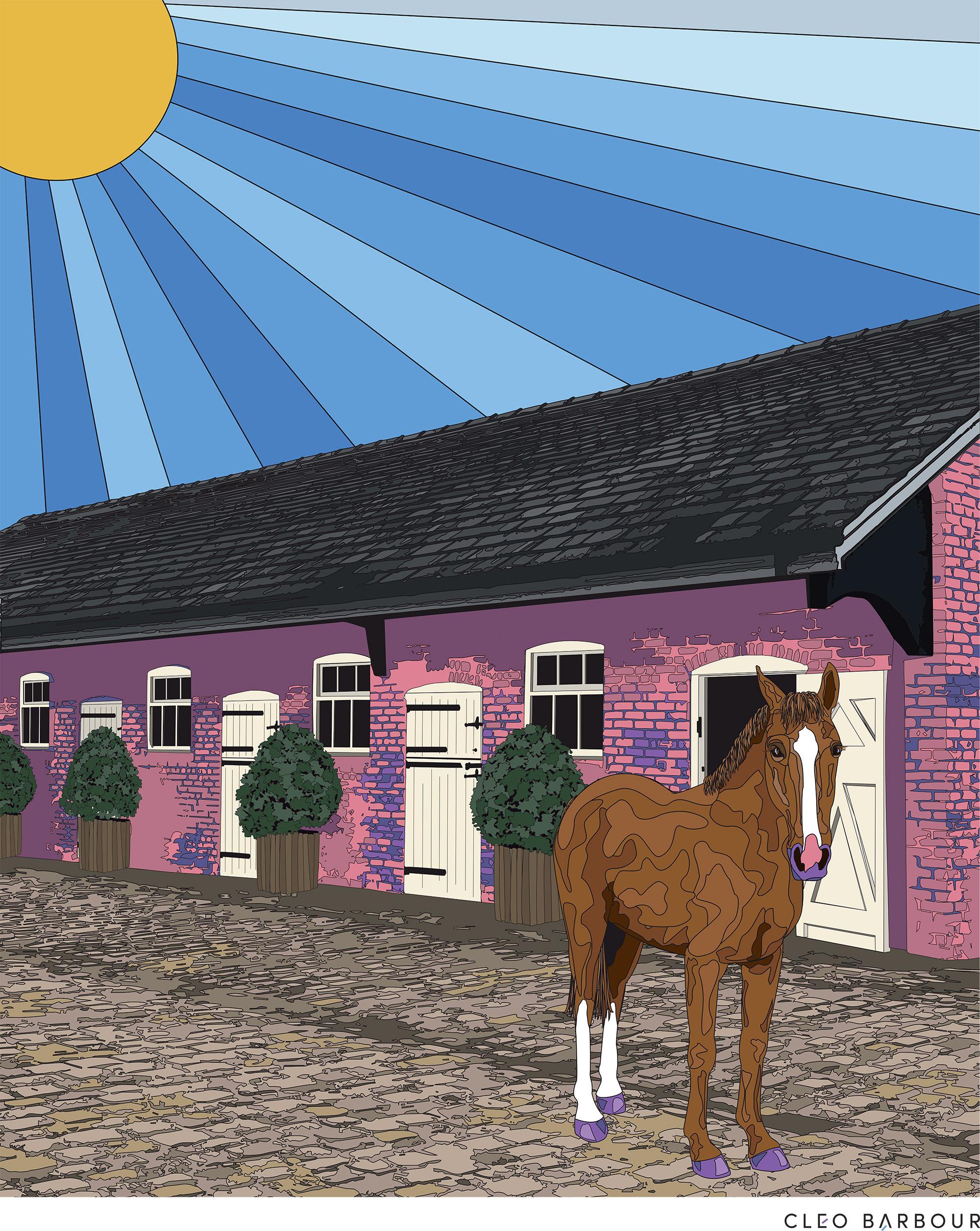 horse-portrait-modern
