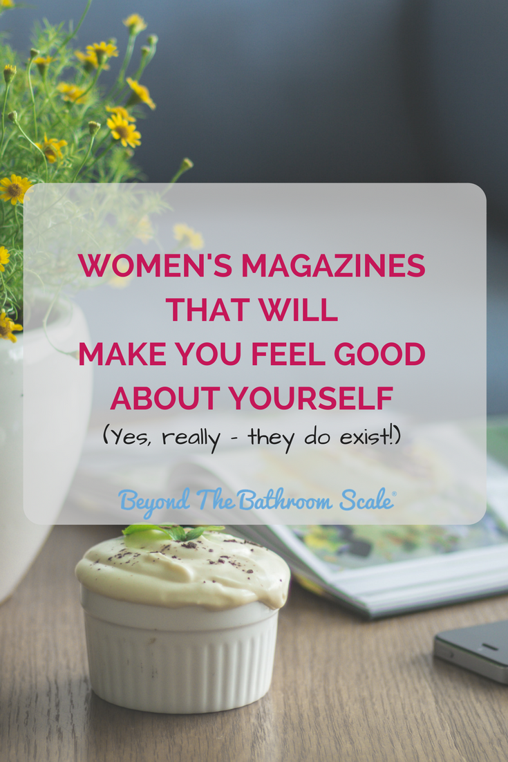 womens magazines feel good about yourself