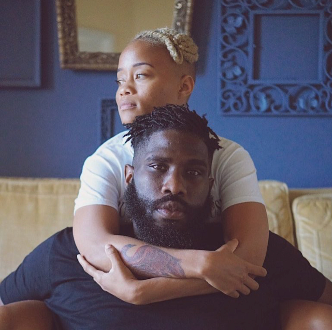 Tobe Nwigwe &Ivory Rogers. (Photo taken from IG)