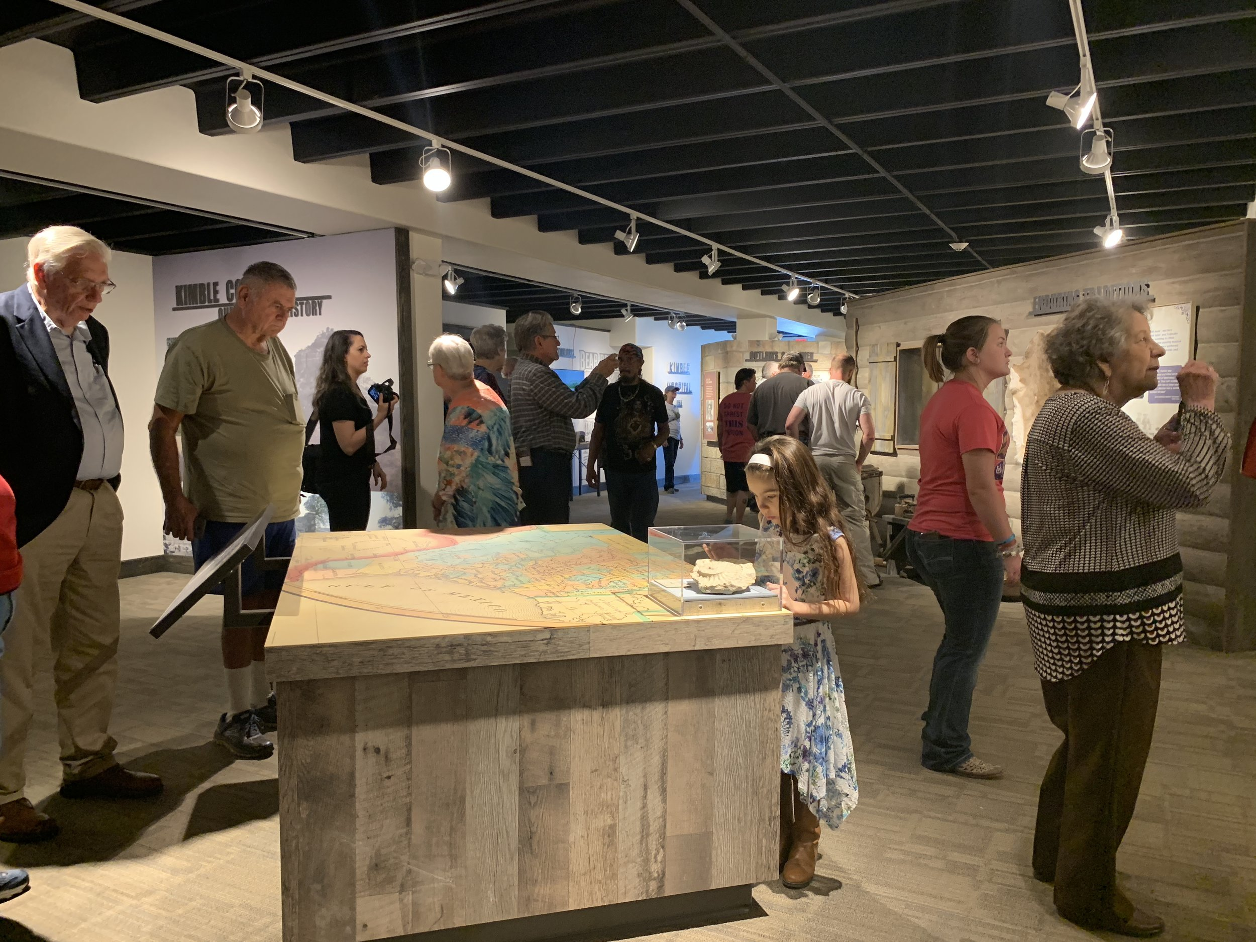 Kimble County Grand Opening Event