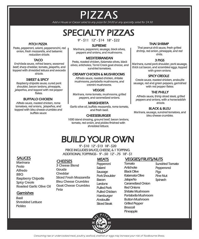 #eatmopizza #pizza #417pizza #417food #springfieldmo #417land #pitchpizzapub #catering #417catering #417resturants #417eats