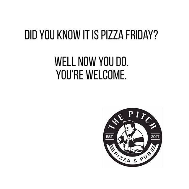 Be in the know. #eatmopizza #pizza #417pizza #417food #springfieldmo #417land #pitchpizzapub #catering #417catering #417resturants #417eats