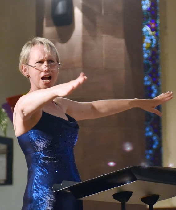 Libby Crabtree - choral conductor