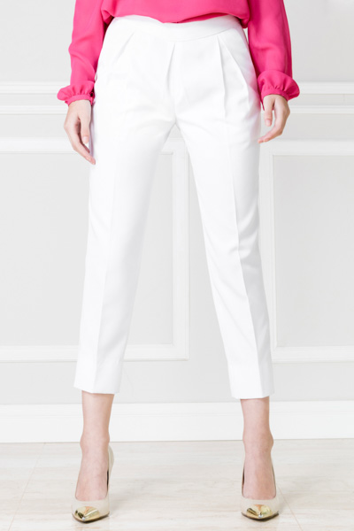 Pantalón pinza blanco - €60