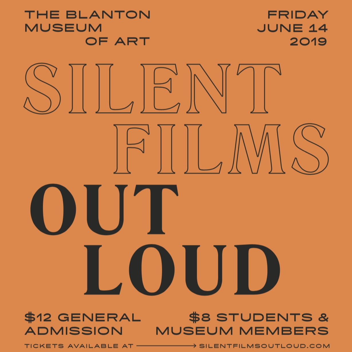 JUNE 14Silent Films Out Loudthree Buster Keaton Films new scores by local composers -