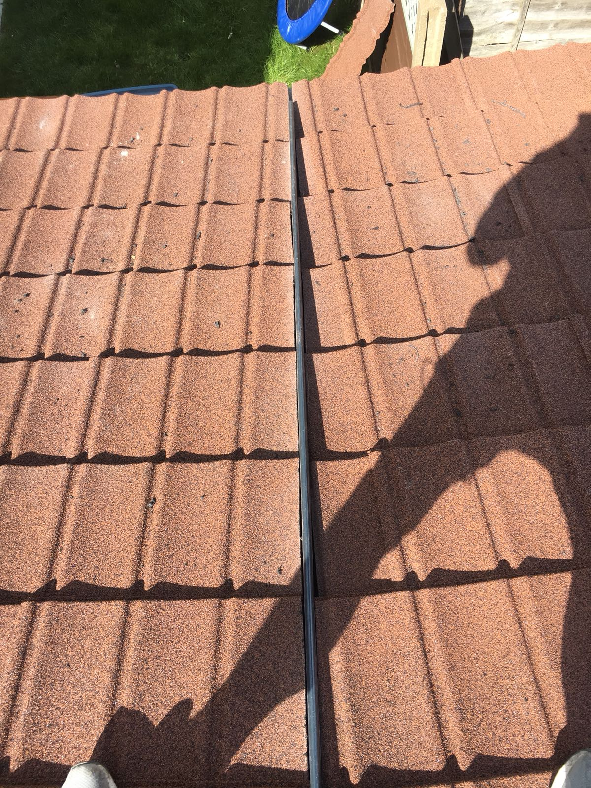 lightweight tiles, roof, extension work