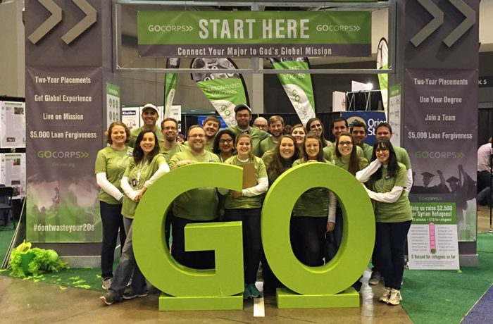 GoCorps offers opportunities to serve for two years as a full time missionary overseas.