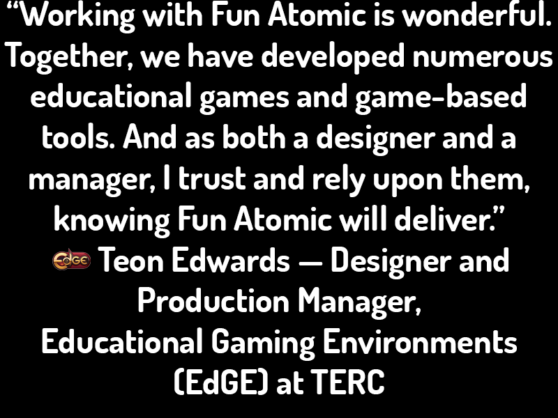 Educational Gaming Environments (EdGE) Testimonial