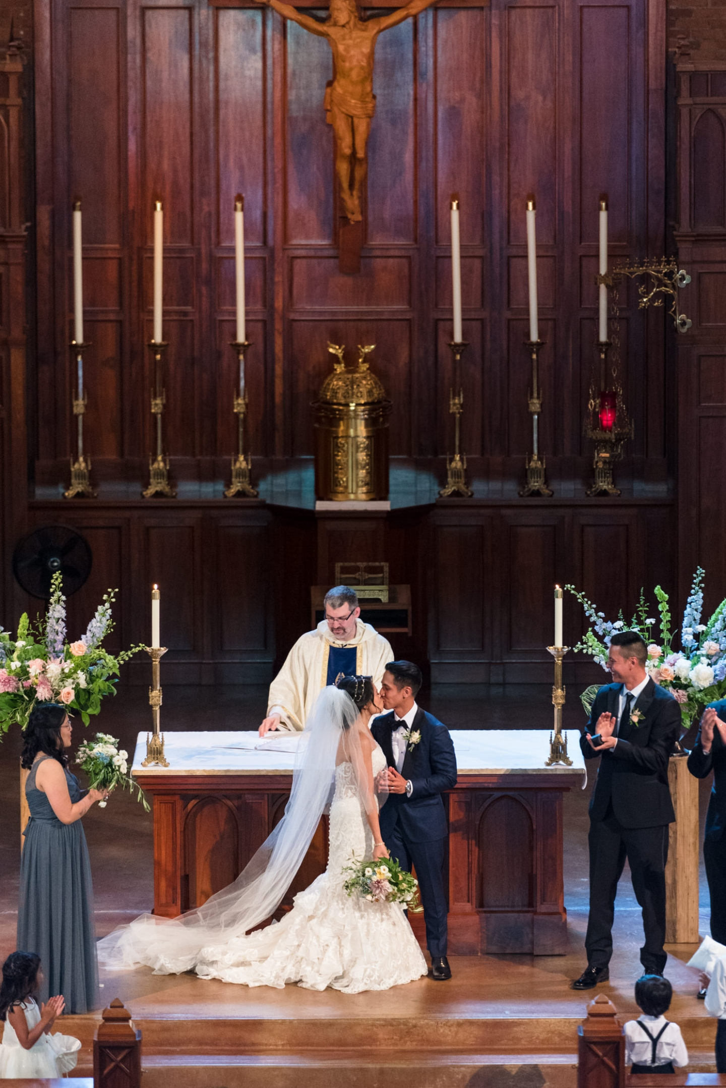 Kim & Allen - July 8, 2017Blessed Sacrament