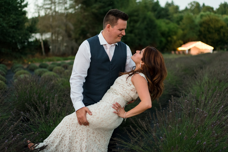 Jenny &John - August 26, 2017Woodinville Lavender