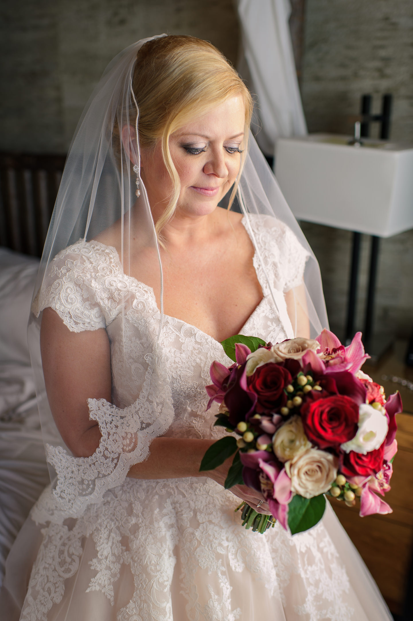 Bridal Portrait at Edgewater Hotel