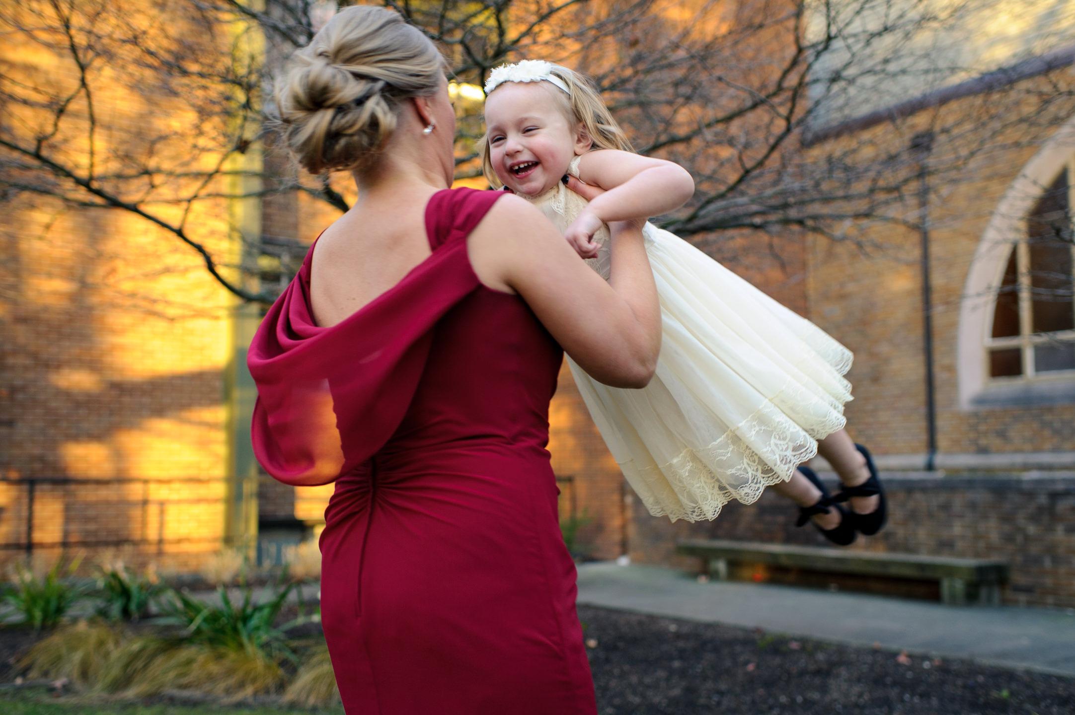 Kids Play at Wedding
