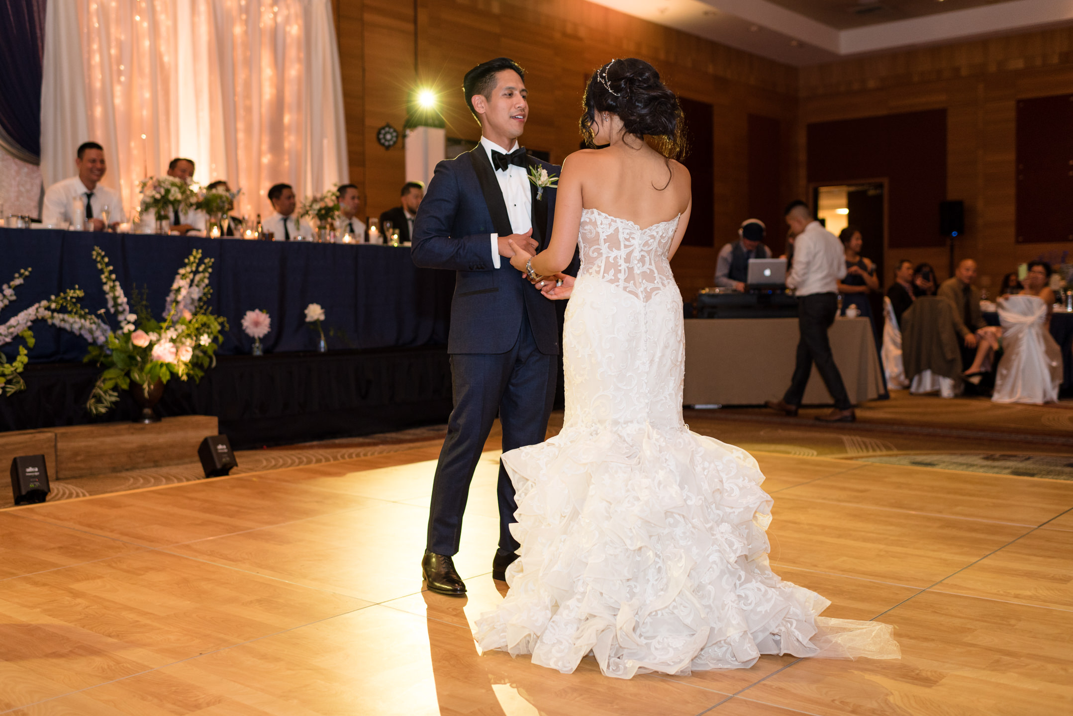 Asian Bride and Groom First Dance at Olive 8