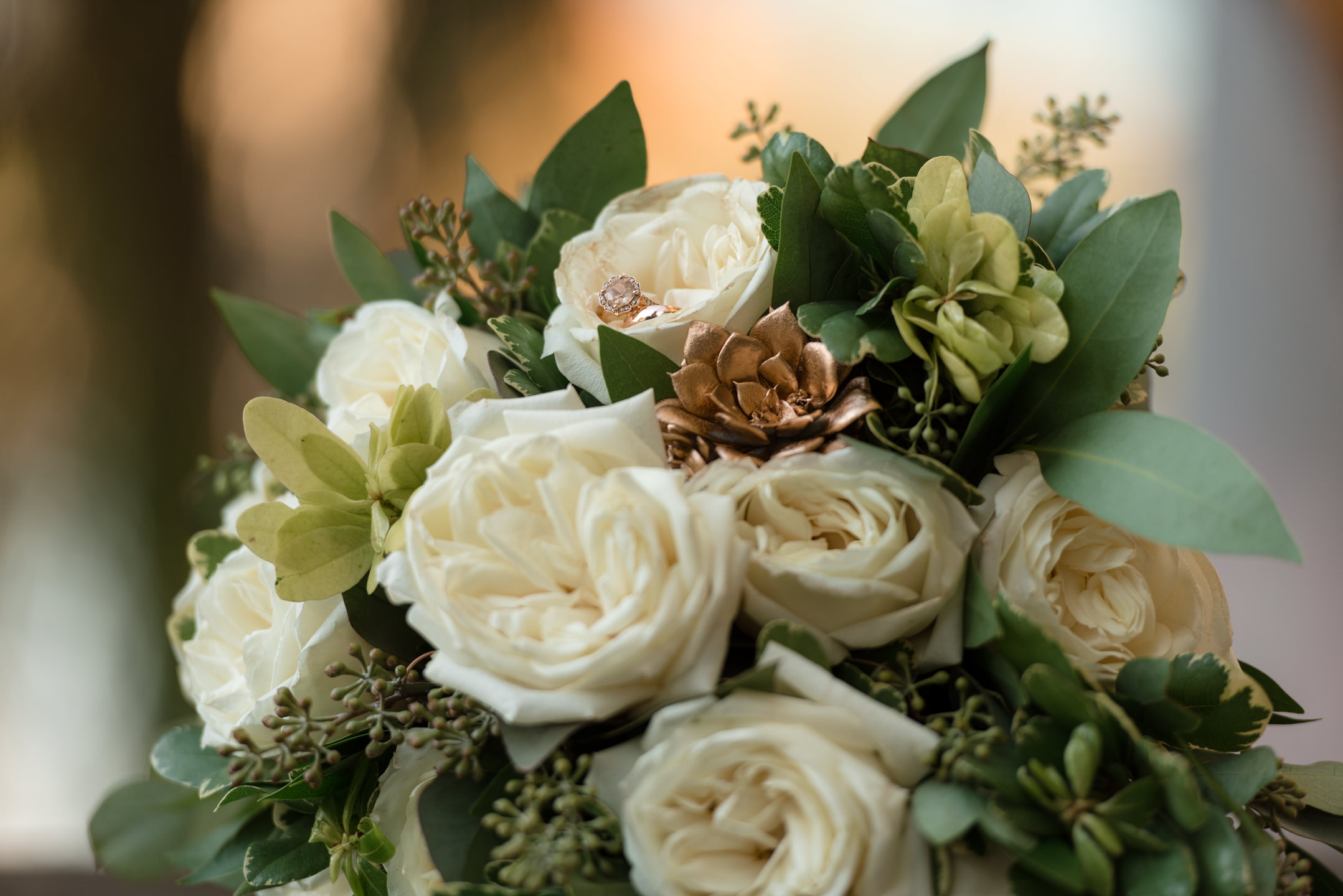 Ring and Bouquet Detail  at Tyee Yacht Club