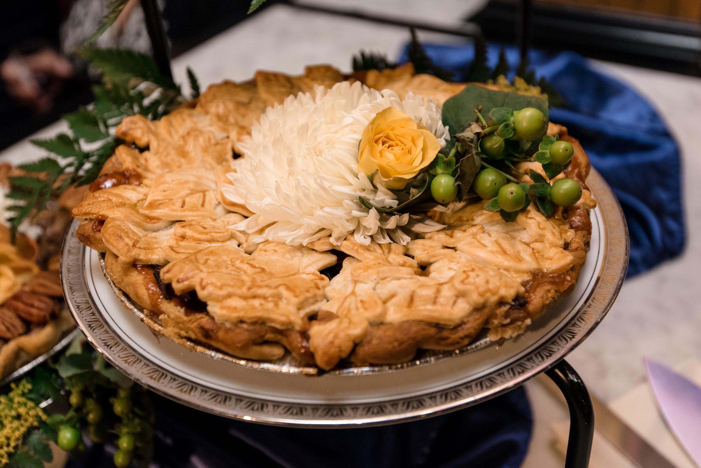Wedding Cake Turned Wedding Pie at Lake Union Cafe