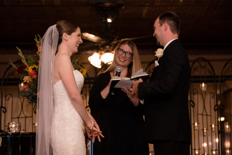 Wedding Ceremony at Lake Union Cafe