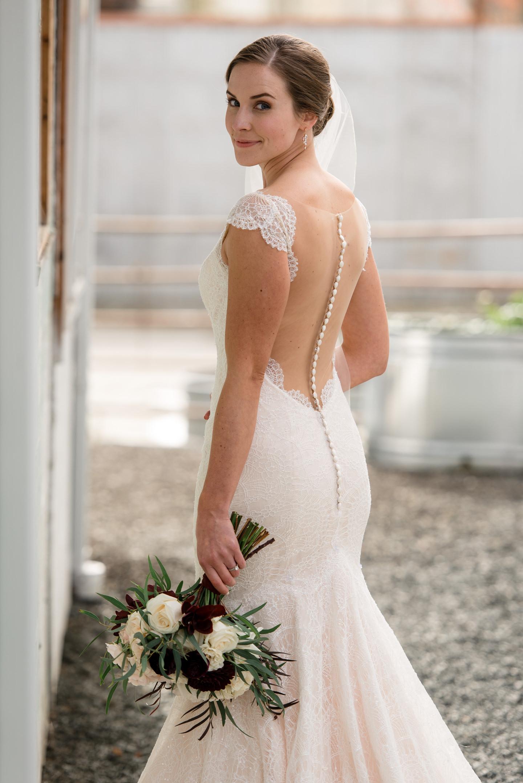 Bridal Portrait at Dairyland in Snohomish
