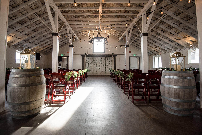 Dairyland Wedding Venue Ceremony Details