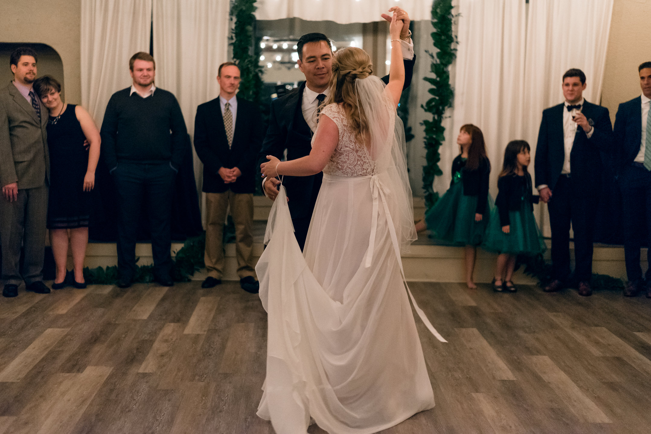 Bride and Asian Groom First Dance