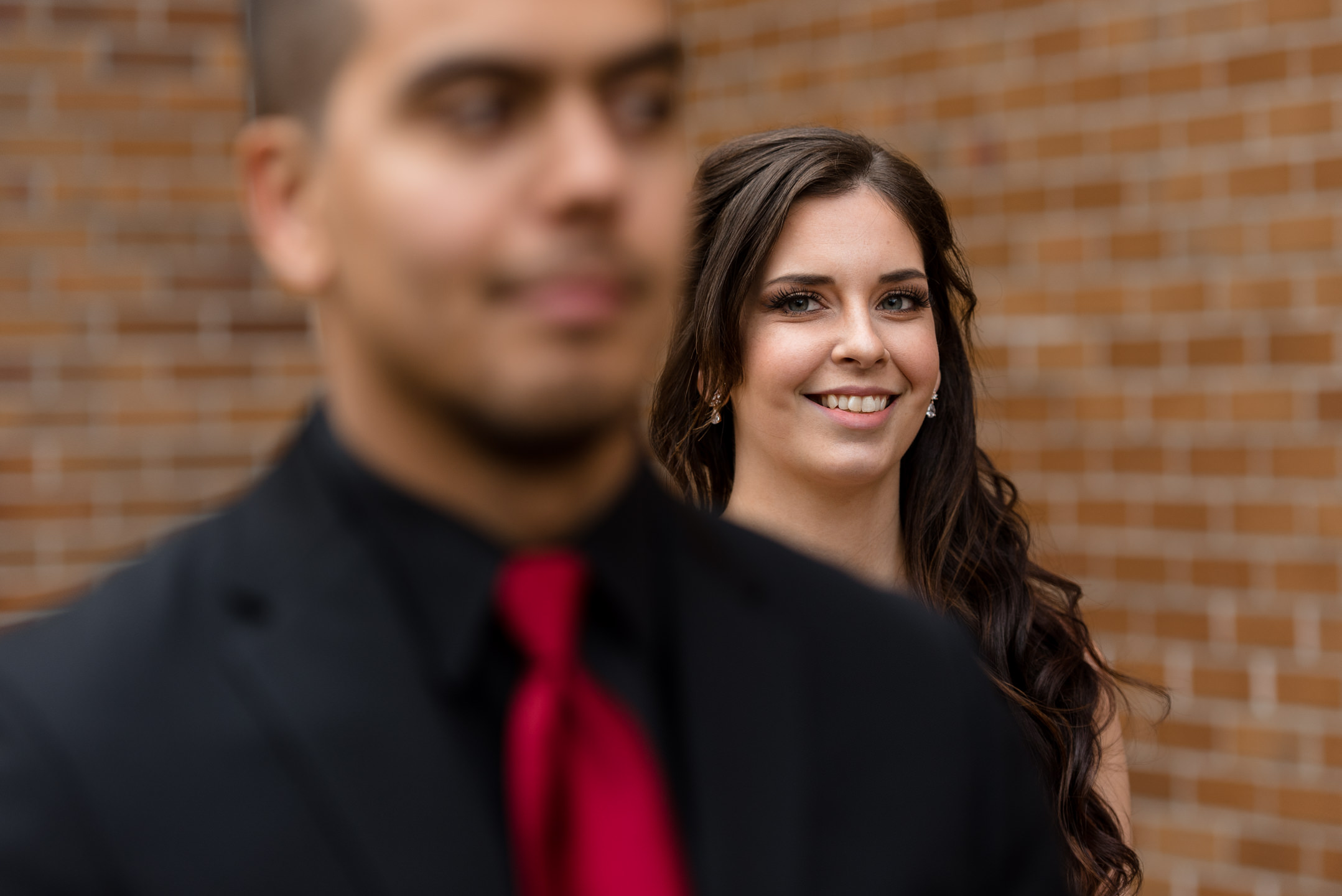 Kayli & Sergio First Look by Andrew Tat, Seattle Documentary Wedding Photography