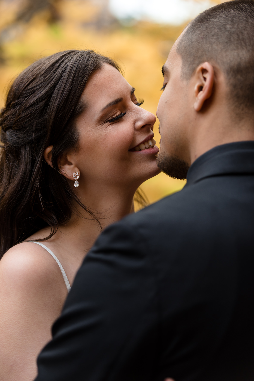 Bride and Mexican Groom Wedding Portraits