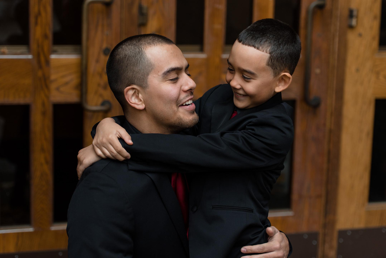 Kayli & Sergio Family by Andrew Tat, Seattle Documentary Wedding Photography