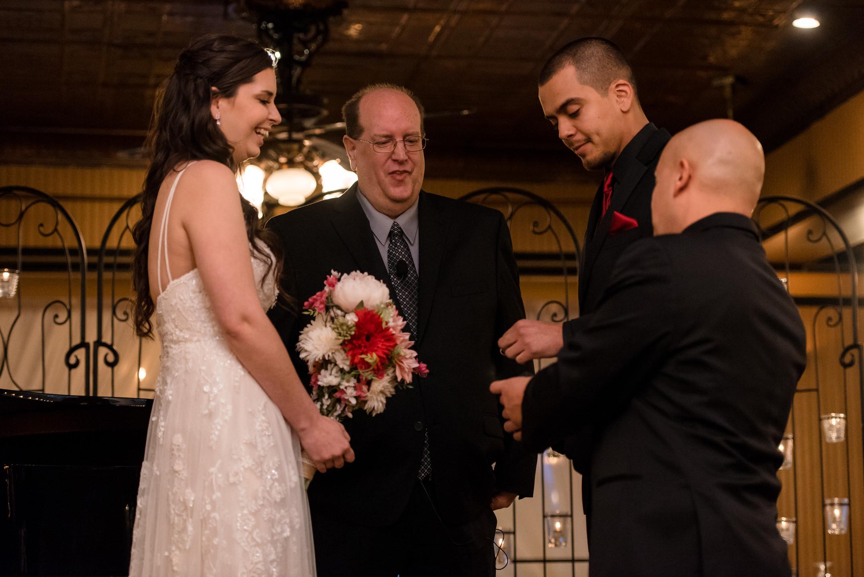 Rings Wedding Ceremony