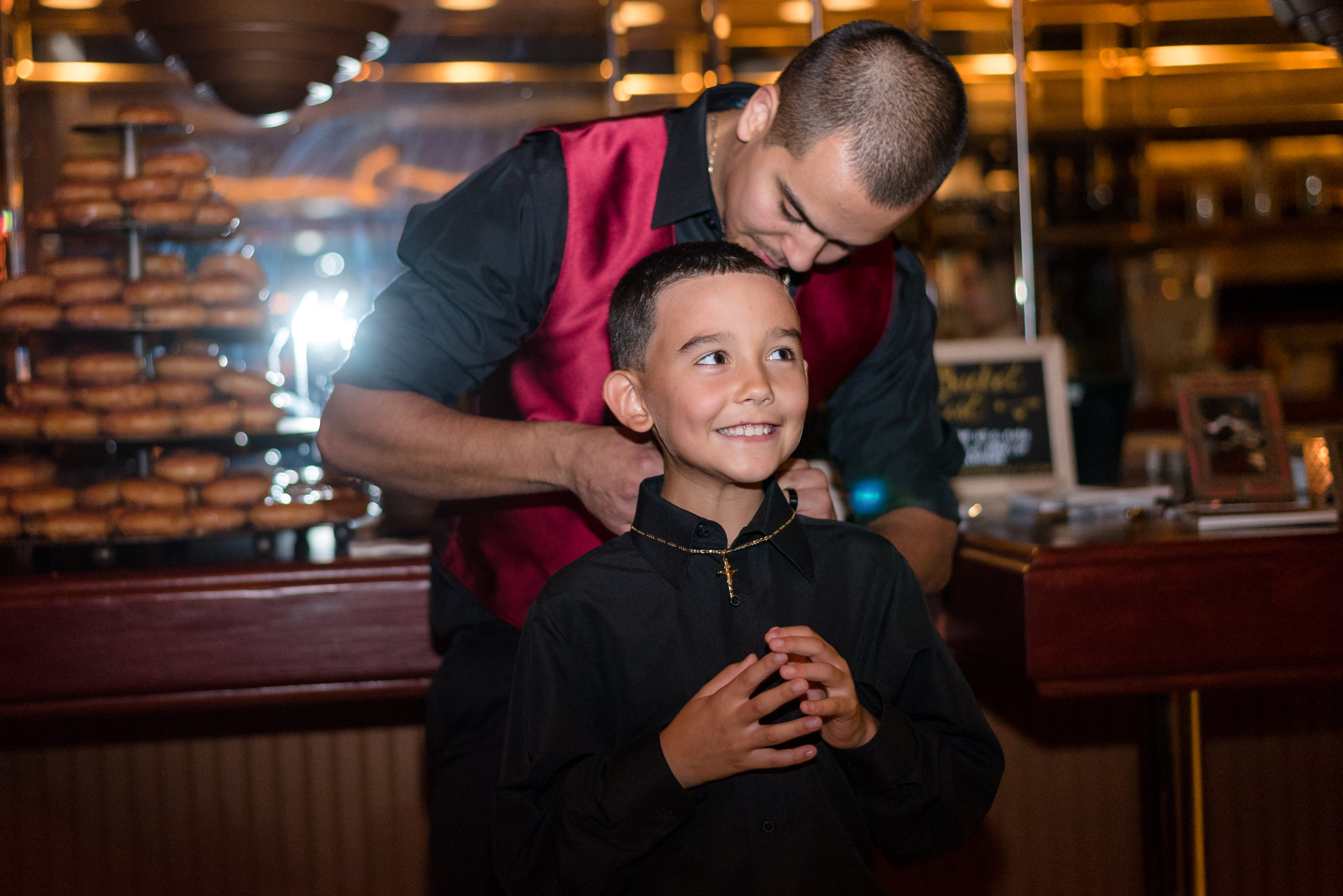 Mexican Groom to Son Gift at Lake Union Cafe