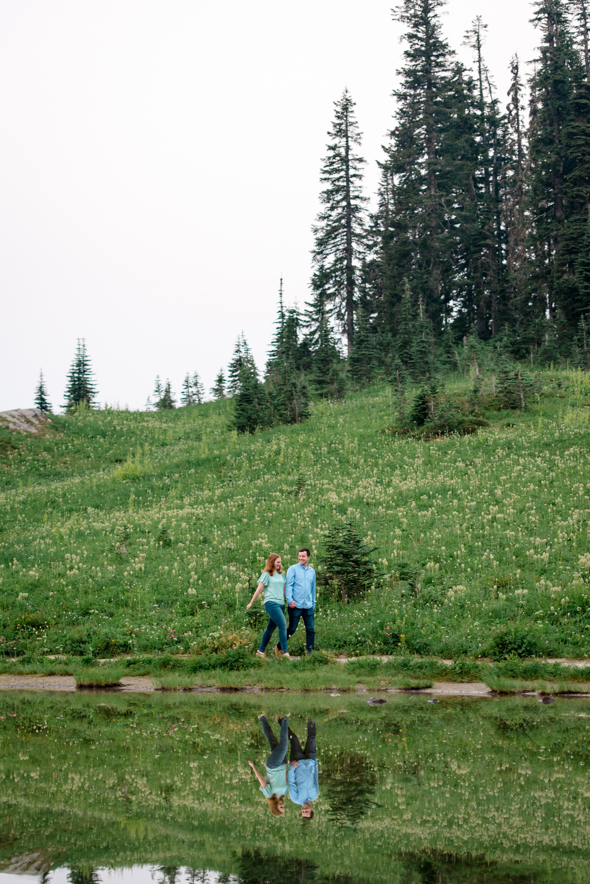 Andrew Tat - Documentary Wedding Photography - Tipsoo Lake - Mount Rainier National Park, Washington - Erin & Robert - 04.JPG