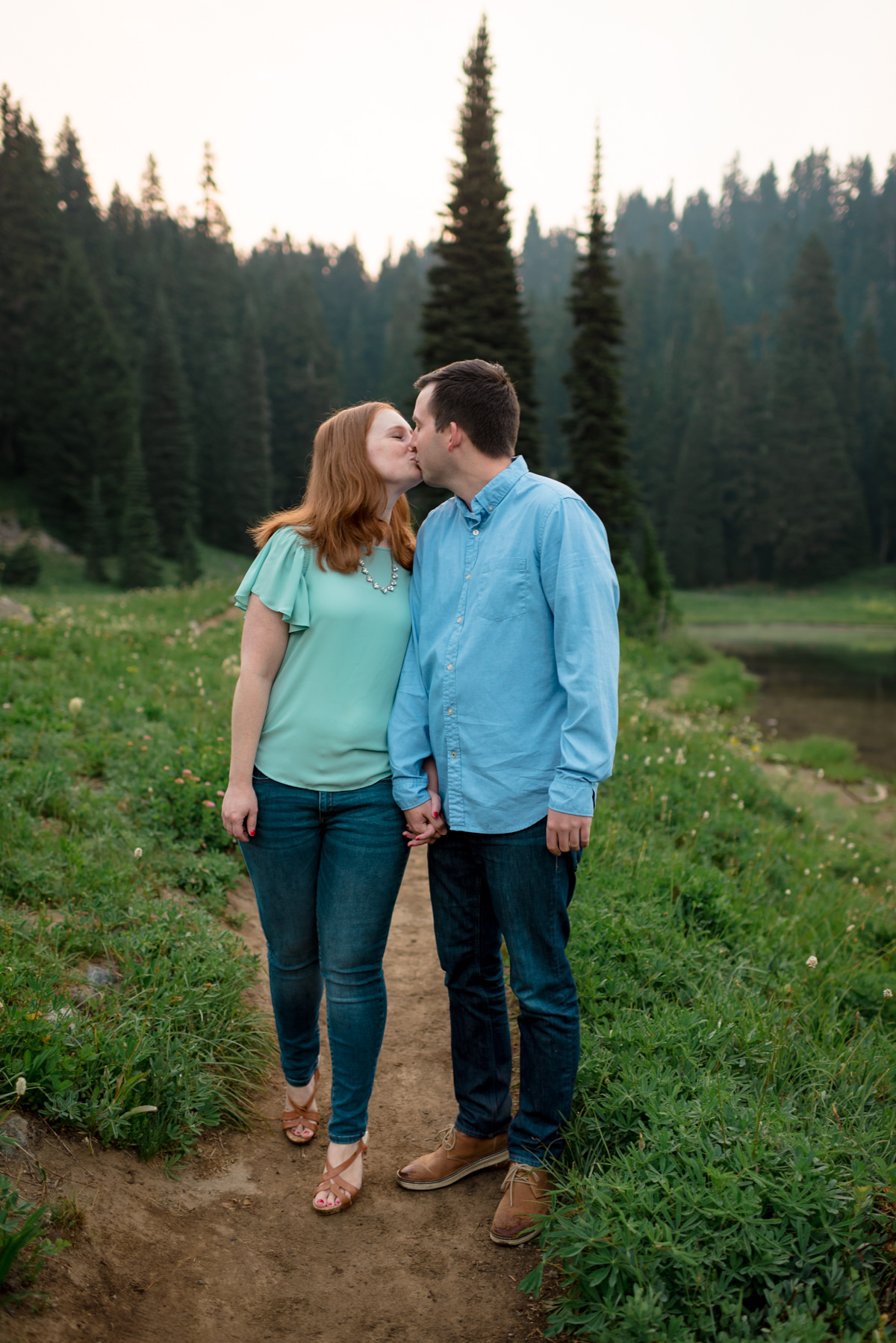 Andrew Tat - Documentary Wedding Photography - Tipsoo Lake - Mount Rainier National Park, Washington - Erin & Robert - 09.JPG