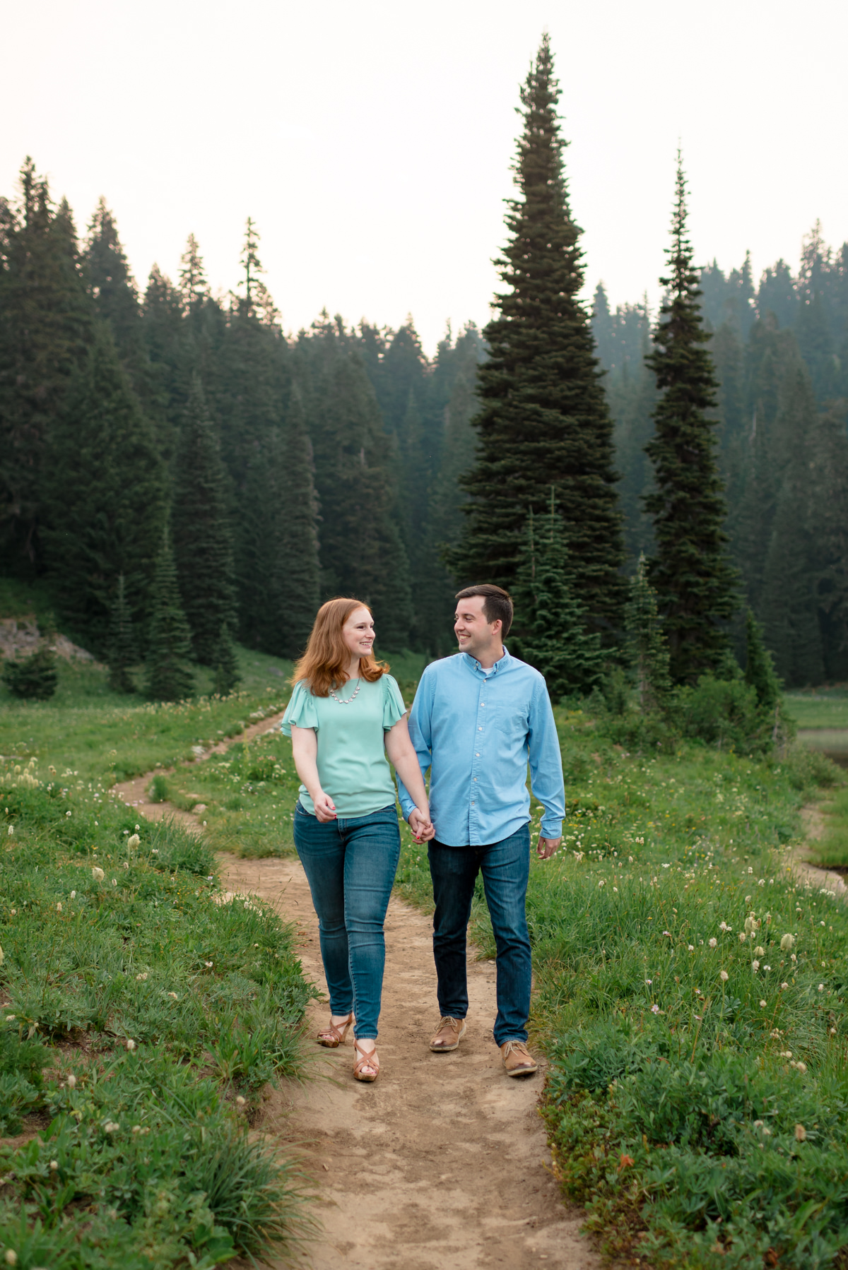 Andrew Tat - Documentary Wedding Photography - Tipsoo Lake - Mount Rainier National Park, Washington - Erin & Robert - 11.JPG