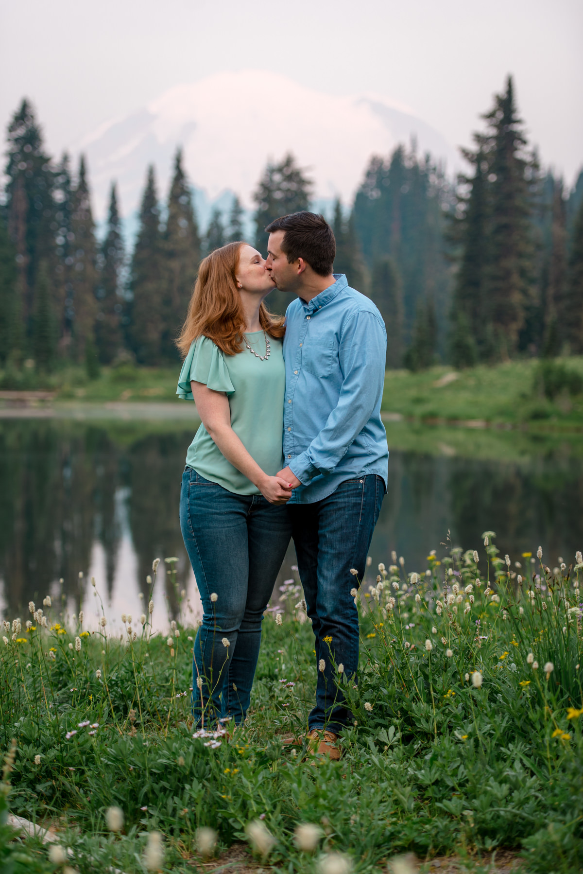 Andrew Tat - Documentary Wedding Photography - Tipsoo Lake - Mount Rainier National Park, Washington - Erin & Robert - 18.JPG